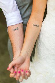 Matching tattoos- lo