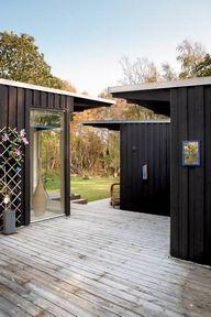 summerhouse on an is
