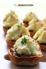Mini Shepherd Pies