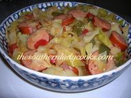FRIED CABBAGE WITH S