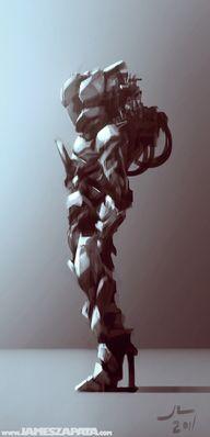 Space suit concept b