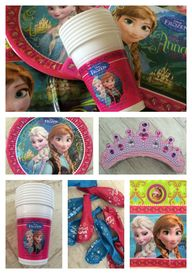 Frozen party items