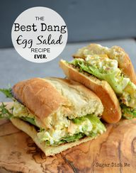 Best Dang Egg Salad
