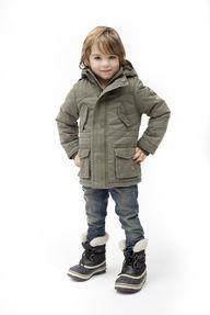 Winterjas voor jonge