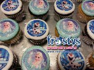Custom Frozen cupcak