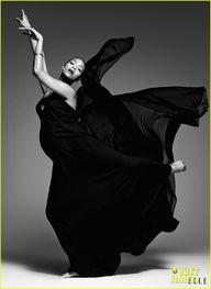 Zoe Saldana for 'Ell...