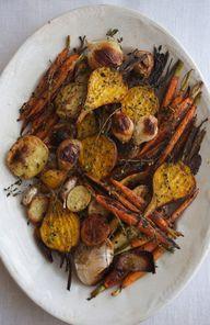 roasted autumn veget