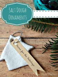 Homemade Salt Dough