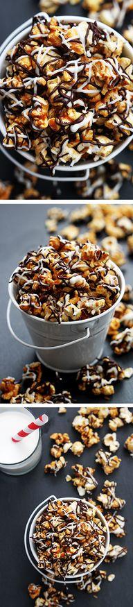 Zebra Caramel Corn -
