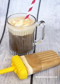 Root Beer Float Pops