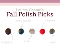 Love these fall poli