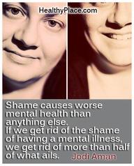 Stigma quote: Shame