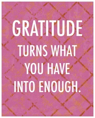 Remember to be grateful today :)