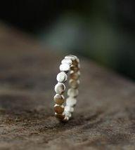 Pebble Ring Band