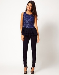 Sequin Top With Chif...