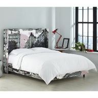 Vallila Wingback Bed