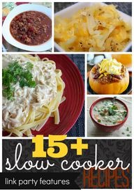 15  Slow Cooker Reci
