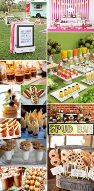 Fun Food stations