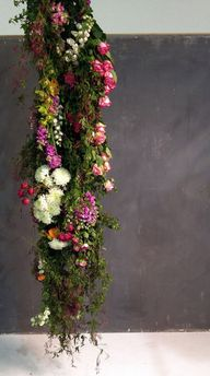 hung flowers