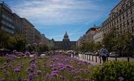Wenceslas Square, Pr