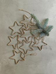 DIY wire star orname
