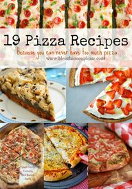 19 Pizza Recipes to