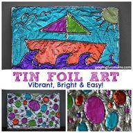 Tin Foil Art - vibra