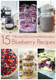 15 Blueberry Recipes