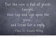"""But the rain is ful"