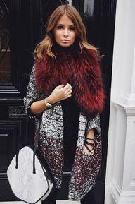 burgundy furs + spar