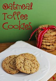 Oatmeal Toffee Cooki
