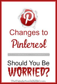Changes to Pinterest