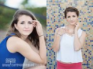 senior shoot in Galv...
