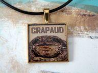 Crapaud Grumpy Toad