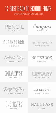 12 of the Best Fonts
