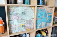 Cover drawers with m