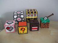 3D Hama beads cubes