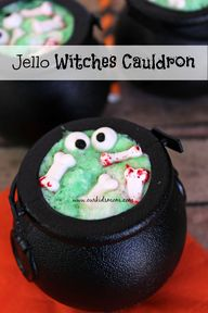Jello Witches Cauldr