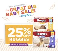 Huggies 25% Off Coup