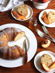 Peach Maple Bundt Ca