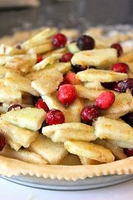 Cranberry Apple Pie...