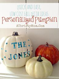 Fall Decor ideas, Ea