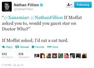 Nathan Fillion:  If