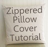 How to make a pillow