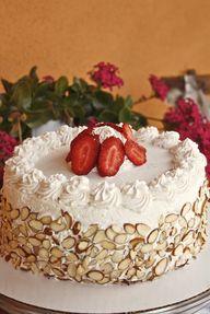 Italian Rum Cake  ev