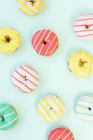 Striped Donuts | Lea