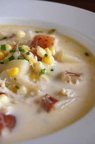 Crab and Corn Chowde