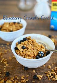 Blueberry Granola Ce