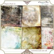 Papers Pack 12 by Ma