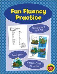 Fun Fluency Practice...